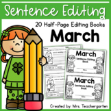 March Sentence Editing