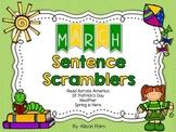 March Sentence Scramblers