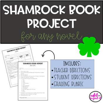 March Book Report for ANY Novel