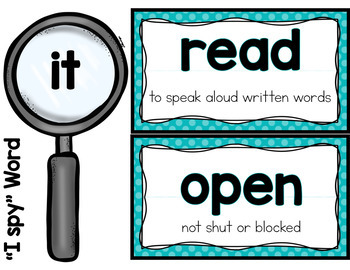 March Shared Reading (Sight Word Poems)