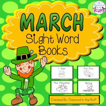 March Sight Word Books