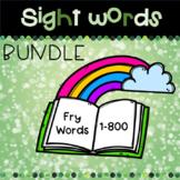 March Sight Word Bundle: 1-800