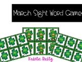 DOLLAR DEALS March Sight Word Game