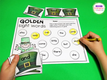 March Sight Word Games and Centers - Editable