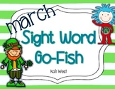March Sight Word Go-Fish
