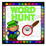 March Sight Word Hunt