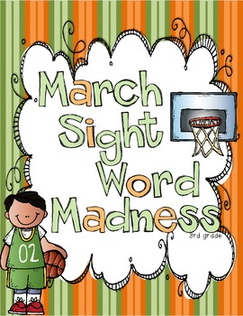 March Sight Word Madness Third Grade