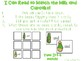 Primer Sight Word Memory Game - St. Patrick's Day