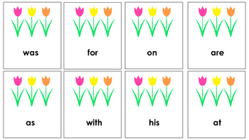 March Sight Word Recognition Game!