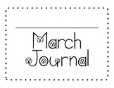 March Sight Word of the Day Journal