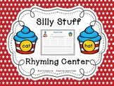 Dr. Seuss Day- Rhyming Words Center