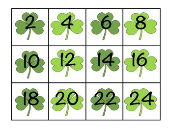 March Skip Counting