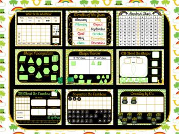 March Smart Board Calendar