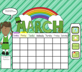Smartboard Calendar March