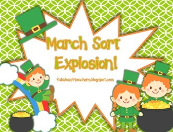 March Sort Explosion for Communication Arts and Math