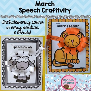 March Speech Therapy Crafts