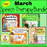 March Speech Therapy Themed Bundle