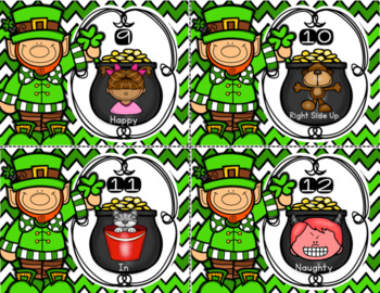 March St. Patrick's Day Antonyms Center