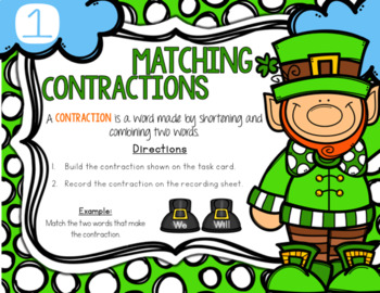 March St. Patrick's Day Contractions Center