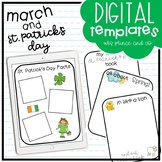 March + St. Patrick's Day Digital Templates and Activities!
