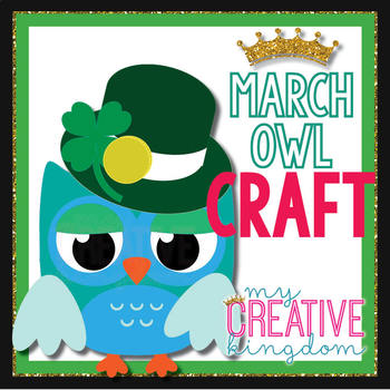 March St. Patrick's Day Owl Craft