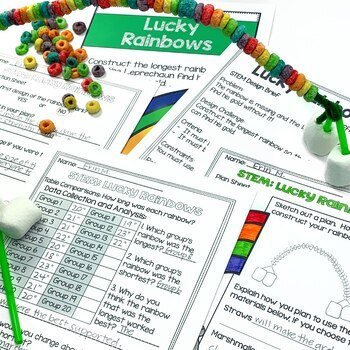 March St. Patrick's Day STEM Engineering Challenges