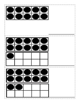 March~ St. Patrick's Day :Two Math Centres - Ten Frames 1-20