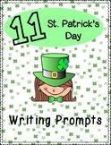 March/ St.Patrick's Day Writing Prompts