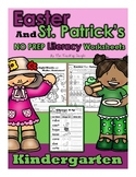 March St Patrick's Day and April Easter NO PREP Literacy K