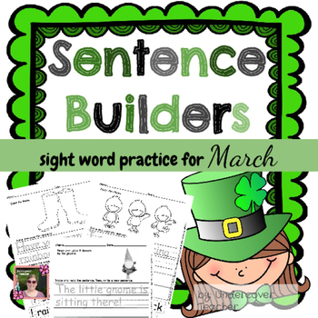 March {Spring & St. Patrick's} (Stations) Sentence Builders
