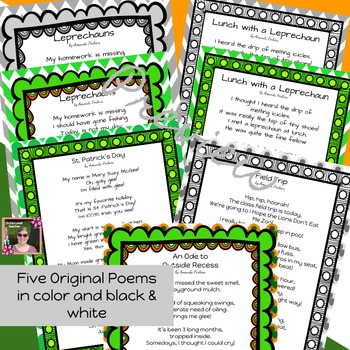 March {Spring} Poetry Unit with Inferencing Questions