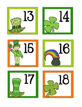 March / St. Patricks Day Calendar Cards