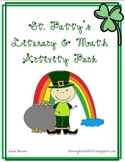 March St. Patrick's Day Literacy and Math Activity Pack