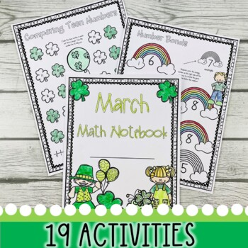 March & St. Patrick's Day Math Notebook (Math for the Entire Month!)