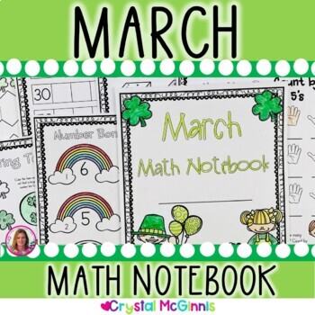 March & St. Patrick's Day Math Notebook (Math for the Enti