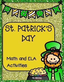 St. Patrick's Day Math and ELA Activities