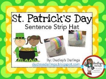 March St. Patrick's Day Sentence Strip Hat
