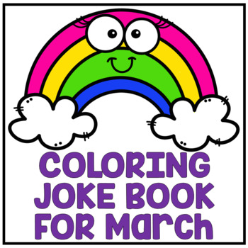 "March St. Patrick's Day Spring ""Just For Fun"" Coloring Jok"