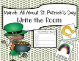 March St. Patrick's Day Write the Room + 2 Bonus Activities