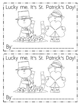 St. Patrick's Day, March, and Spring Emergent Readers