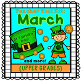 St. Patrick's Day activities {upper grades}