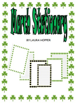 March/St. Patrick's Day Stationary