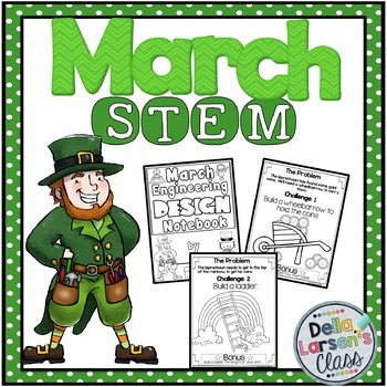 March Stem Challenges for St. Patrick's Day