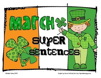 march super sentences by sailing through 1st grade tpt. Black Bedroom Furniture Sets. Home Design Ideas