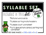March Syllable Set