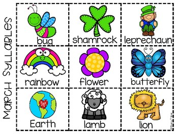 March Syllables