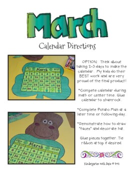 March Calendar Craft and MORE!