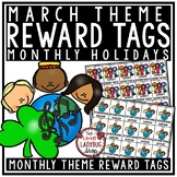March Theme Reward Tags - Classroom Management Reward Coupon Tags