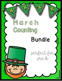 March Theme Counting Pack