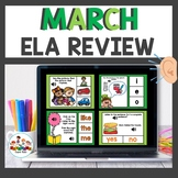 March Themed Boom Cards Bundle ELA